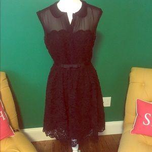 Ted Baker Black Lace Dress